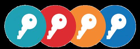 Logo - De vier sleutels voor een effectieve les